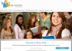 Minds Malta Website