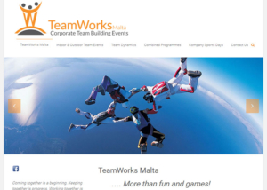 TeamWorks Malta Website